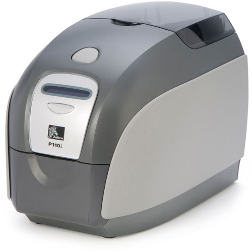 P110I-0000A-ID0 - Zebra P110i Plastic ID Card Printer
