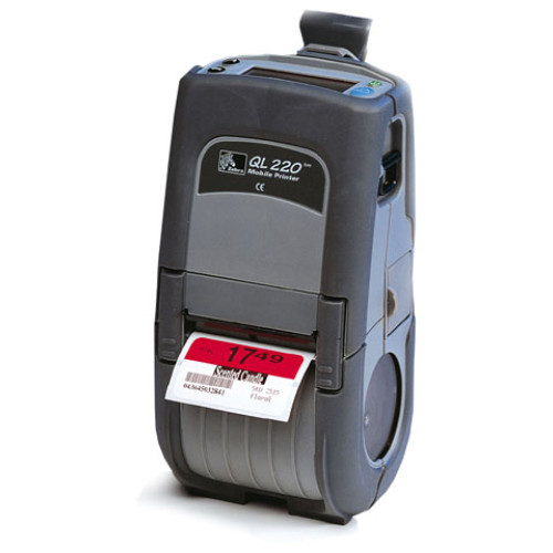 Q2B-LUNAV010-Z0 - Zebra QL220 Portable Bar code Printer