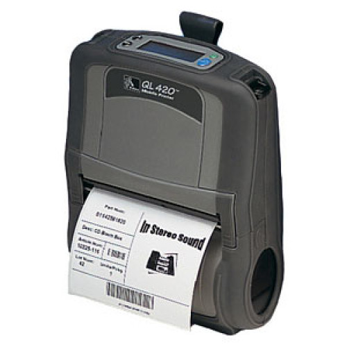 Q4B-MUBB0000-00 - Zebra QL 420 Portable Bar code Printer