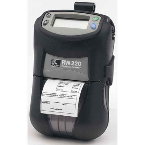 R2D-0UKA000N-GA - Zebra RW 220 Portable Bar code Printer