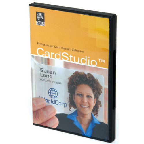 P1031773-001 - Zebra ZMotif CardStudio ID Card Software